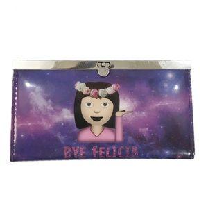 Rue21 Galaxy Purple Bye Felicia Wallet